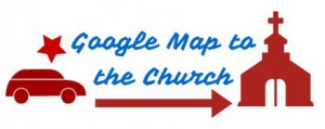 Google Map to the Church