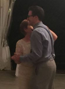 Eric dancing with his Mom