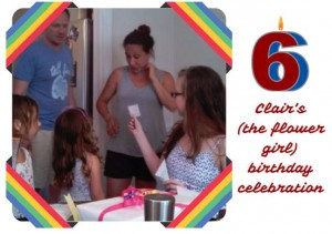 Clair's birthday party