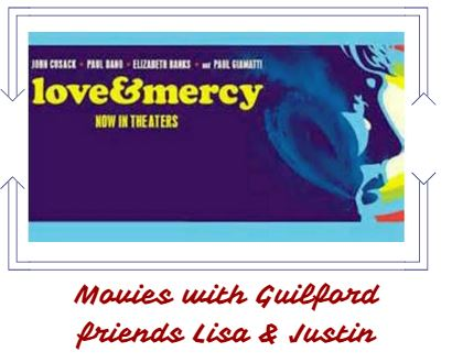 Movies with friends on June 13, 2015 with friends from Guildford College Lisa and Justin