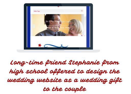 Stephanie to design the website